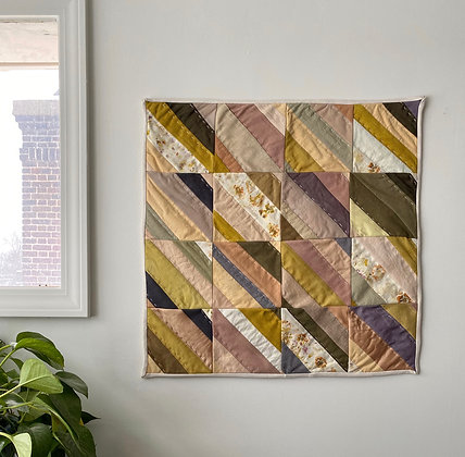Naturally Dyed Quilt