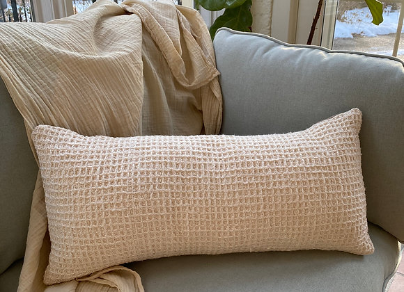 Waffle Weave Pillow