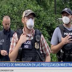 Agentes de ICE trabajaron con el NYPD en protestas