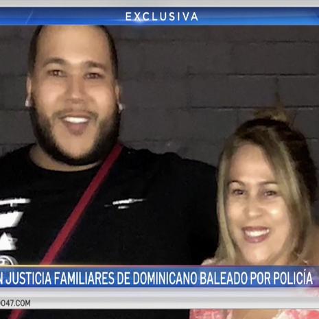 Habla madre de dominicano baleado por la policía (part 1)