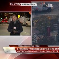 Atentado terrorista en las calles de NY