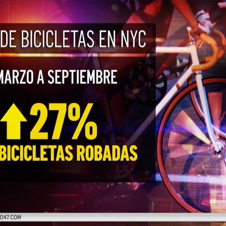 Trabajadores de reparto denuncian robo de bicicletas eléctricas