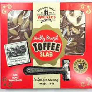 Brazil Nut Toffee Slab (V)