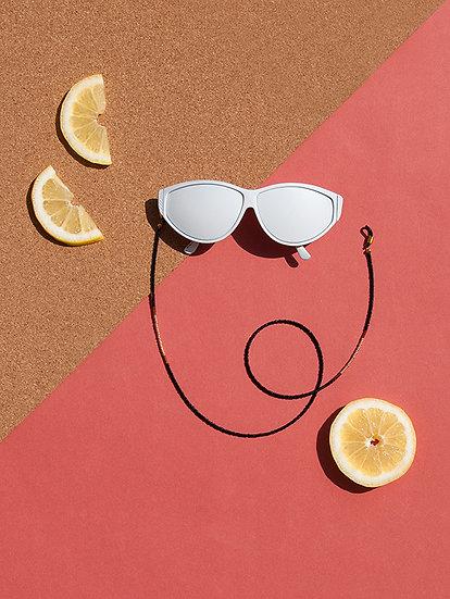 Glasperlen Brillenband