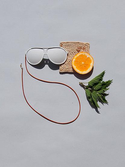 Leder Brillenband
