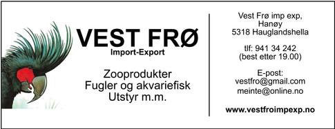 Vest Frø