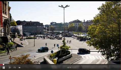 Lausanne et la Riponne: comment valoriser au mieux les places dans les villes
