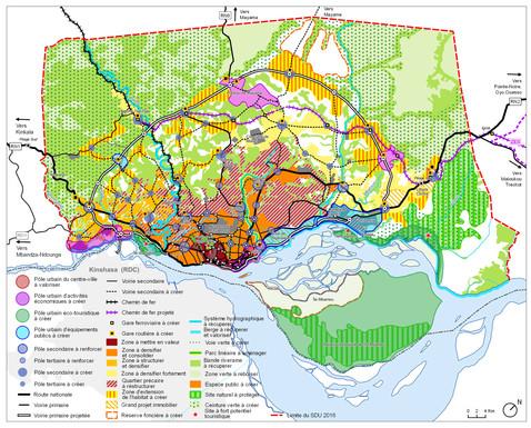 Schéma Directeur d'Urbanisme (SDU) de la ville de Brazzaville, CONGO