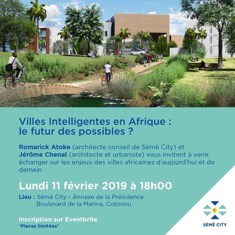 Conférence sur les villes intelligentes en Afrique