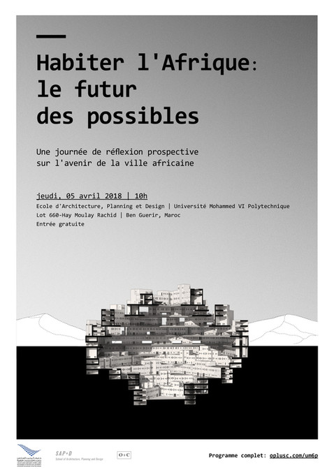 """Annonce de la conférence """"Habiter l'Afrique: le futur des possibles"""""""