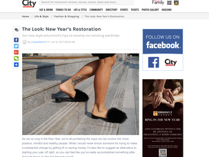 NEW YEAR'S RESTORATION