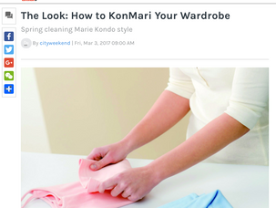 The Look: How to KonMari Your Wardrobe