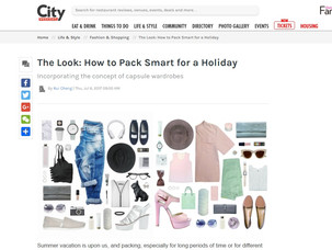 The Look: How to Pack Smart for a Holiday