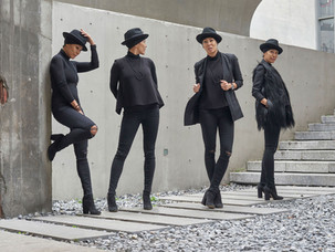A Lesson in Layering | All Black Everything