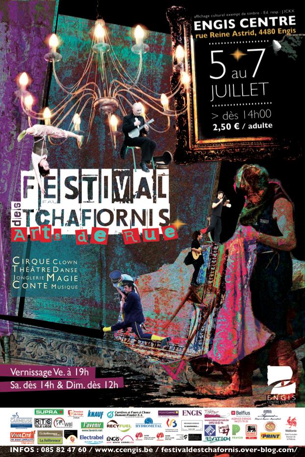 Affiche Festival des Tchafornis
