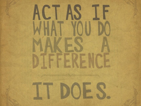 Actions Big and Small Help Us Transition
