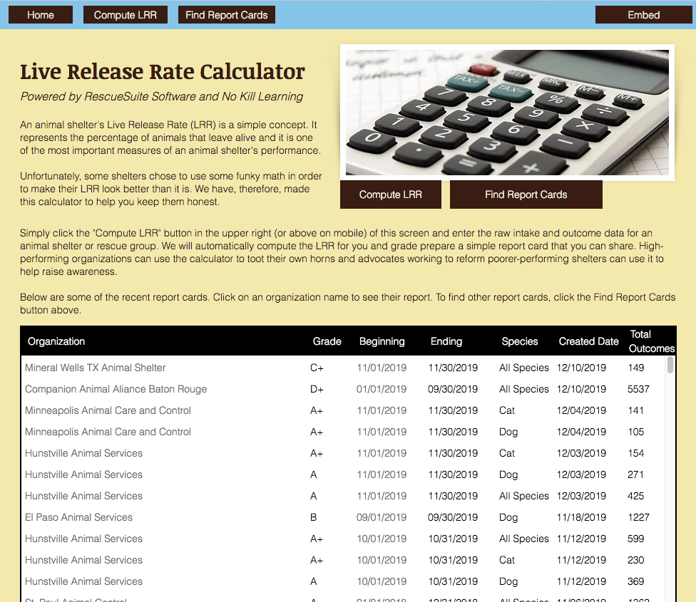 Live Release Rate Calculator
