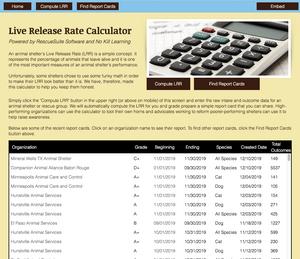 Live Release Rate Calculator