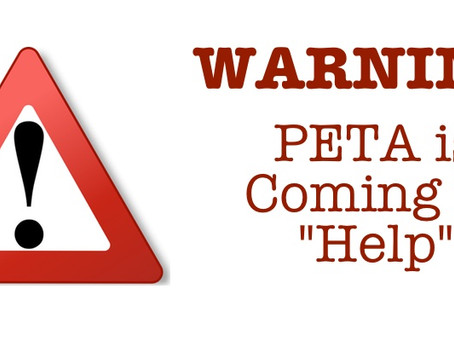 Warning to Houston Pets and Their People: PETA and HSUS are Coming to Help
