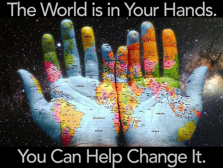 You Are Invited to Help Change the World