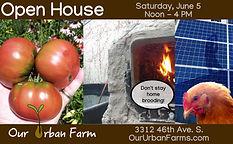 Our Urban Farm Open House