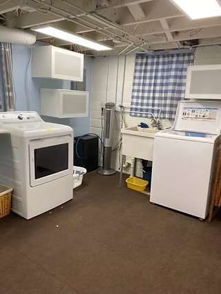 Scent-free laundry-room in my home