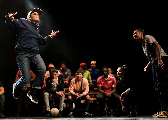 HIP HOP AT WORK Battle de danse en entreprise