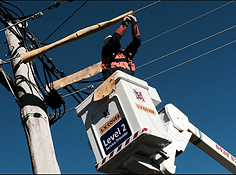 Macquarie Electrical working on power lines