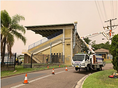 Macquarie Electrical installing and connecting a 200Amp supply