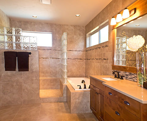 Bathroom photo before real estate photo