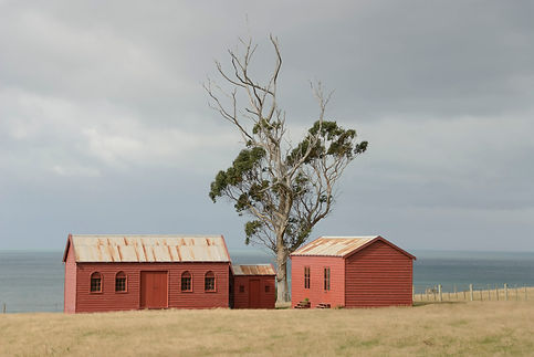 red sheds RETOUCH before