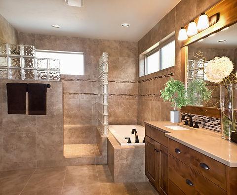 Bathroom photo enhancement