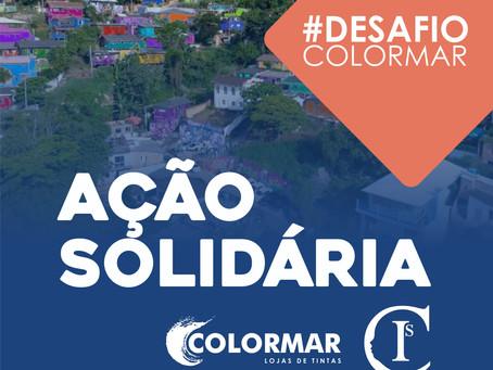 Ação Solidária #DESAFIOCOLORMAR   Parceria com o Projeto Cidades Invisíveis