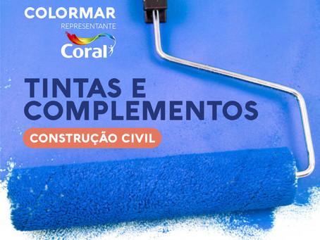 Parceria Coral: canal de vendas Colormar direto de fábrica para construtoras e incorporadoras de SC