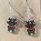 Thumbnail: Rudolph Reindeer Earrings