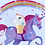 Thumbnail: Unicorn Ice Cream Cone Pin Badge - Pink