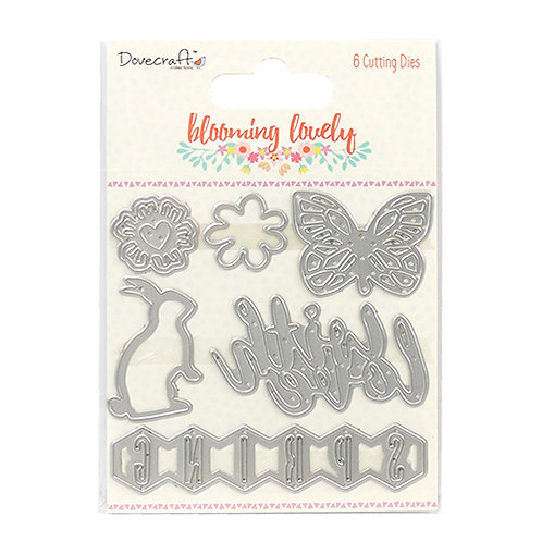 Dovecraft Blooming Lovely Cutting Dies