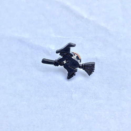 Witch in Flight - Pin Badge