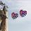 Thumbnail: Dragon Heart Stud Earrings