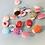 Thumbnail: Colourful Ladybird Buttons
