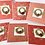 Thumbnail: Red Robin Wreath Christmas Cards - Pack of 6