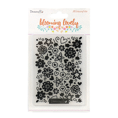 Dovecraft Blooming Lovely Embossing Folder