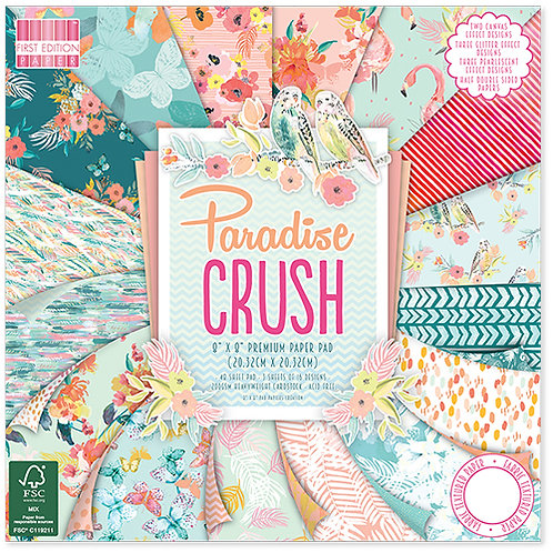First Edition - Paradise Crush 8 x 8 Paper Pack