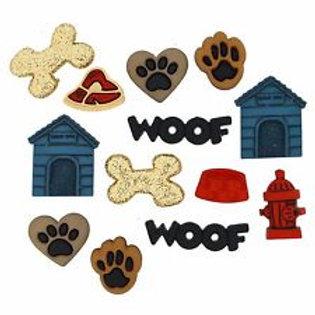 Dress It Up buttons - Dog Stuff