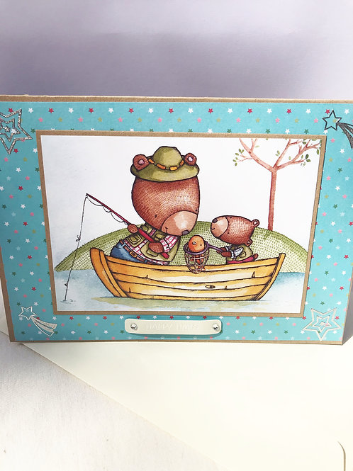 Happy Time Fishing Card