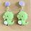 Thumbnail: Baby Green Dragon Earrings