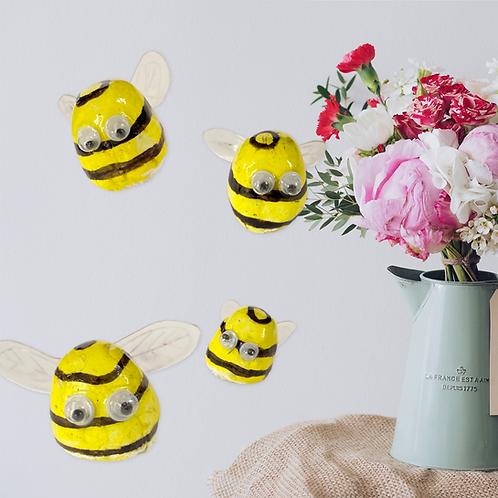 Bee Bod - Clay Mini Figure Ornament
