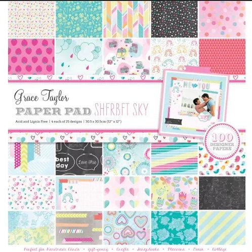 Sherbet Sky- Grace Taylor 100 sheet paper pad