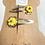 Thumbnail: Handmade Sunflower Hair clips