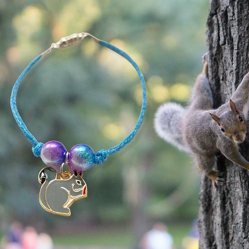 Grey Squirrel Bracelet